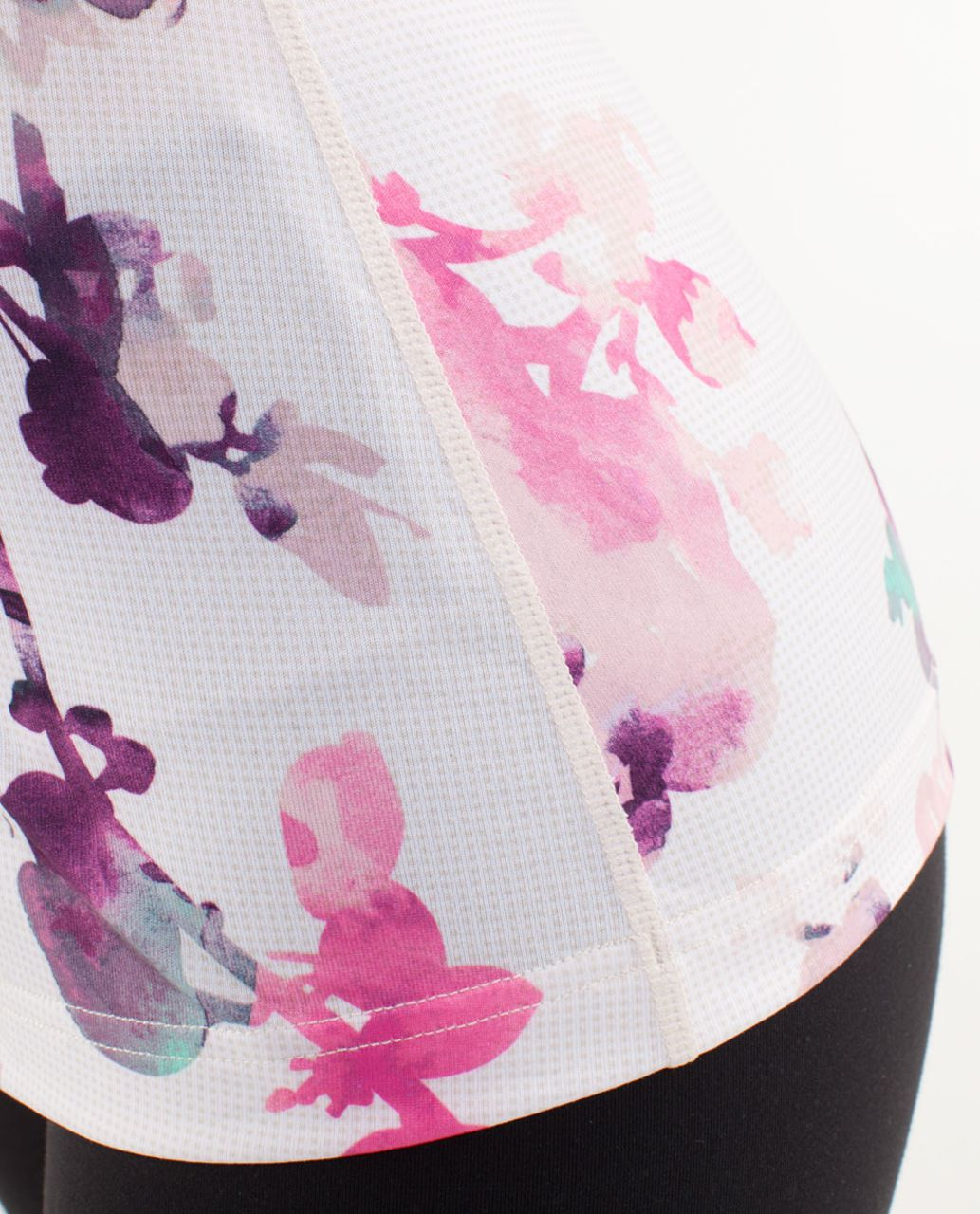 Lululemon Cool Racerback - Blurred Blossoms Multi Colour