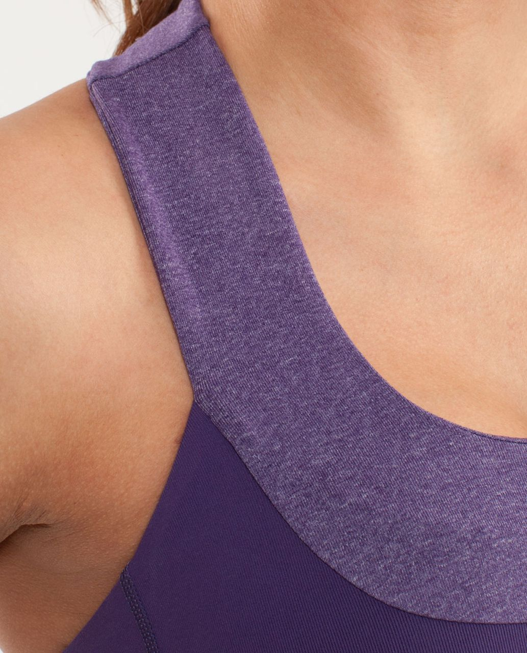 Lululemon Scoop Neck Tank - Concord Grape /  Heathered Concord Grape