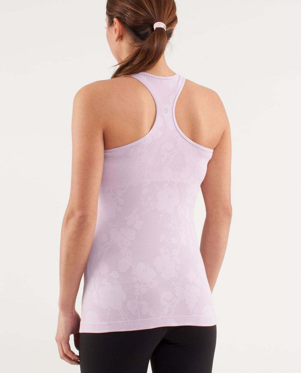 Lululemon Cool Racerback *Mesh - Rose Quartz
