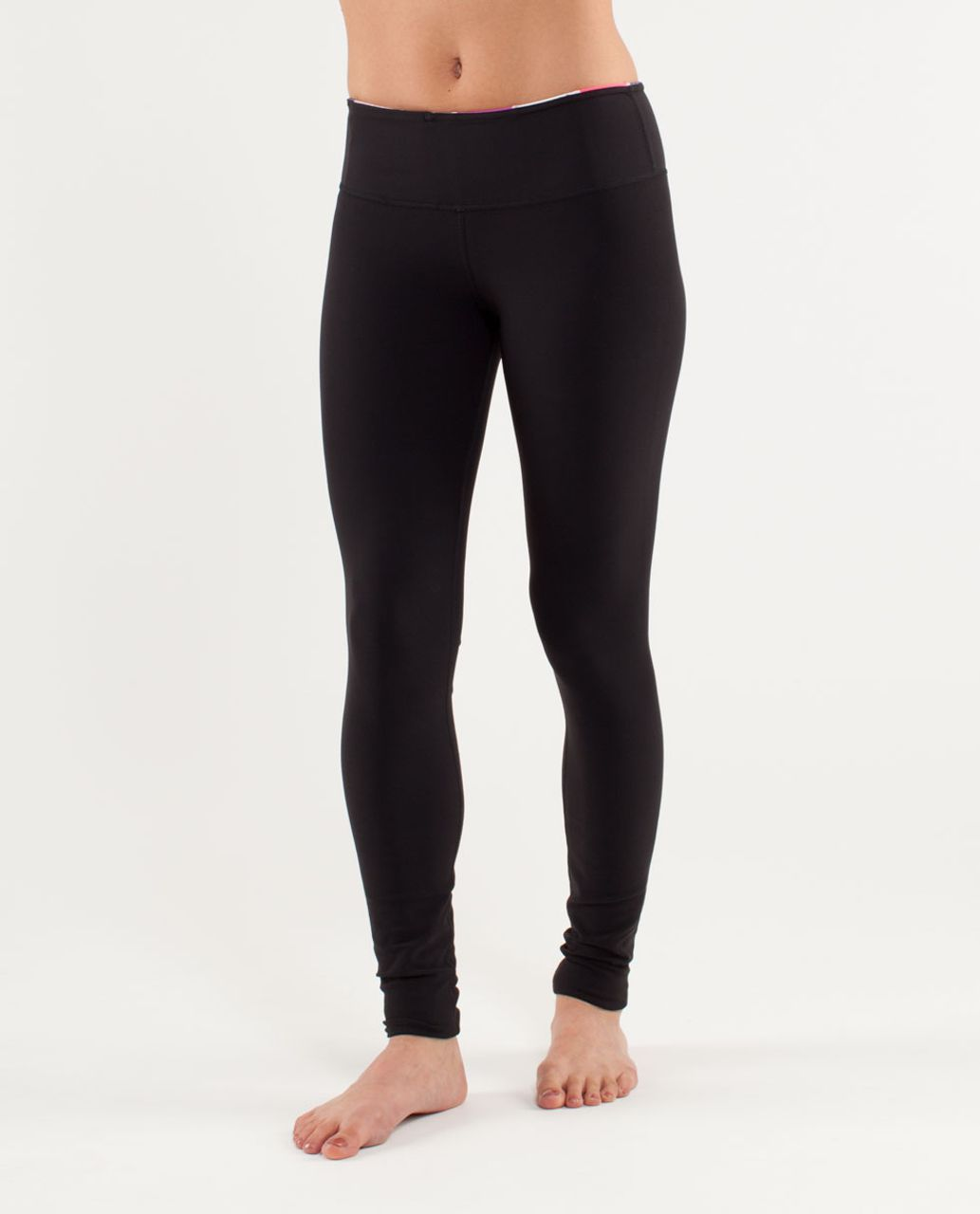 Lululemon Wunder Under Pant - Black /  Quilting Spring 10 /  Black