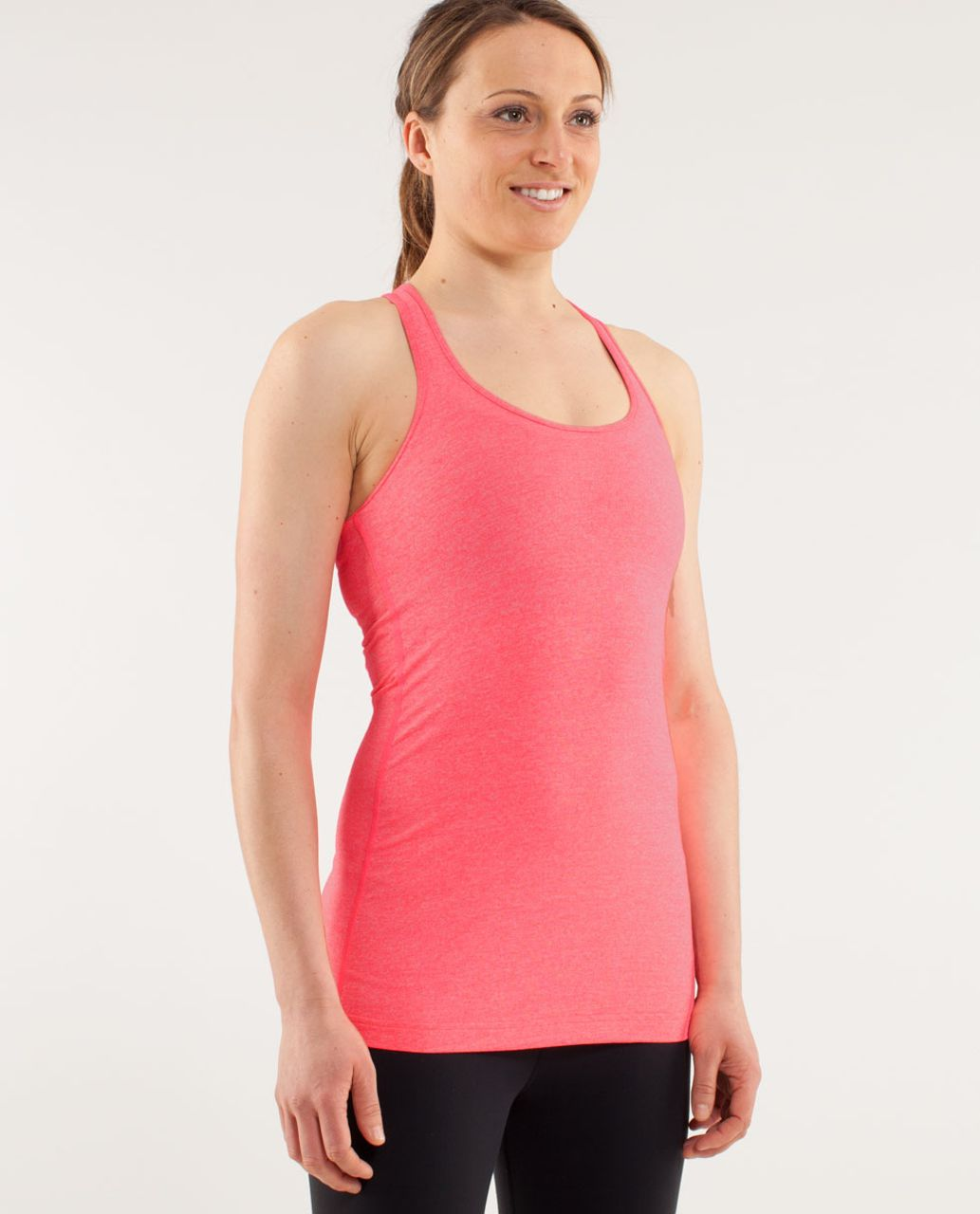 Lululemon Cool Racerback - Heathered Flash