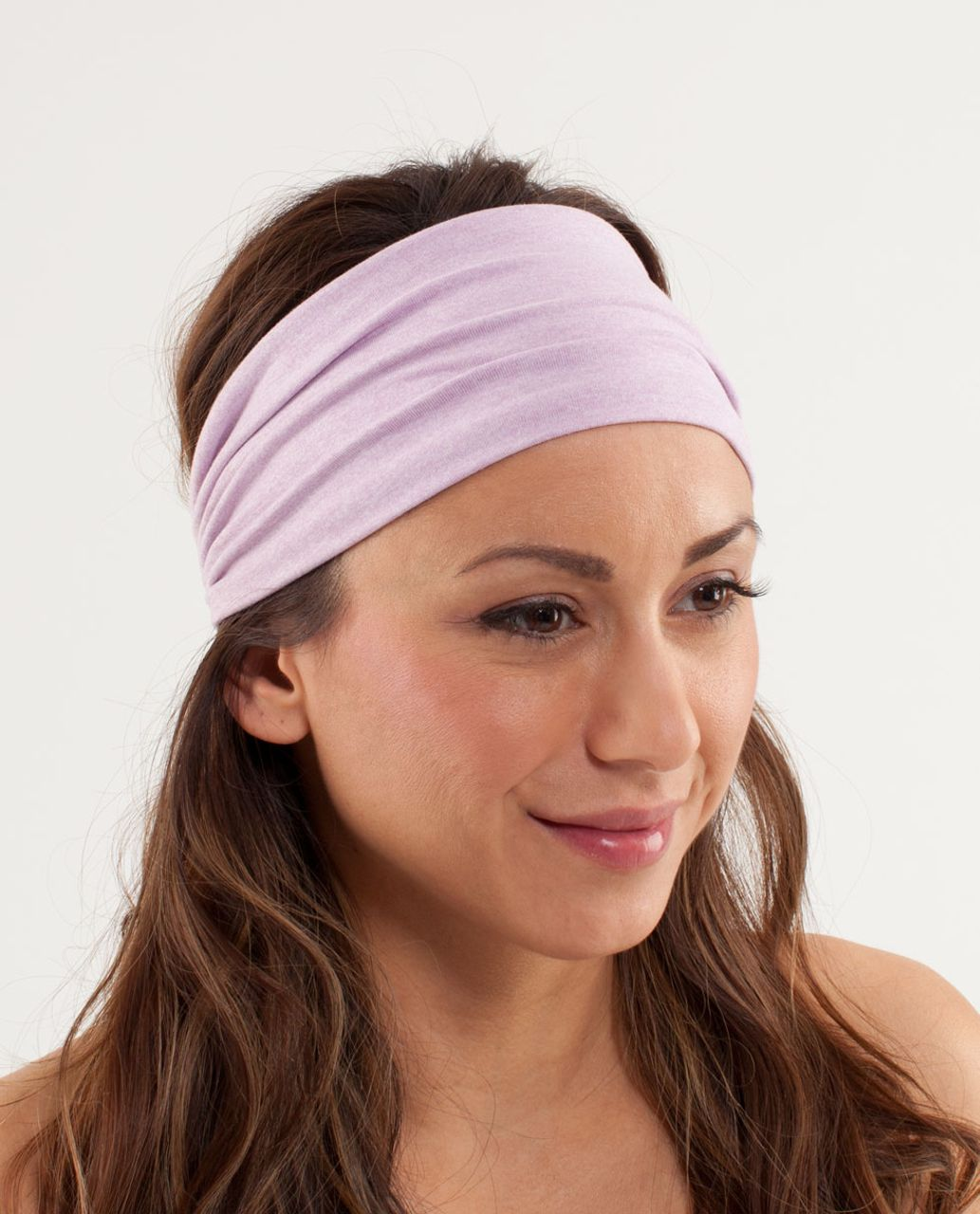 5a2e82440c Lululemon Bang Buster Headband - Heathered Rose Quartz - lulu fanatics