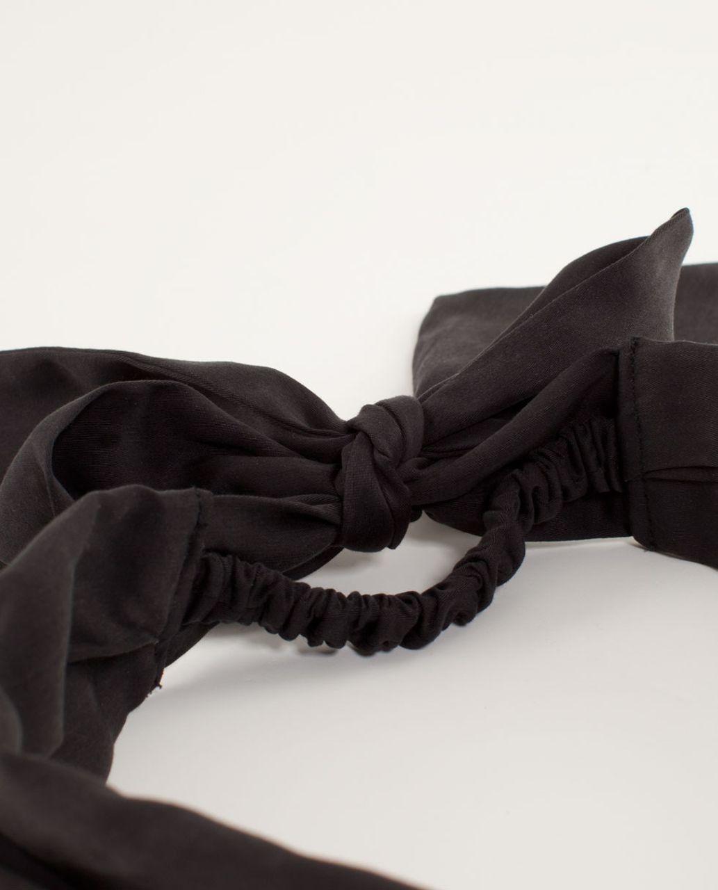 Lululemon Tencel Headwrap - Black