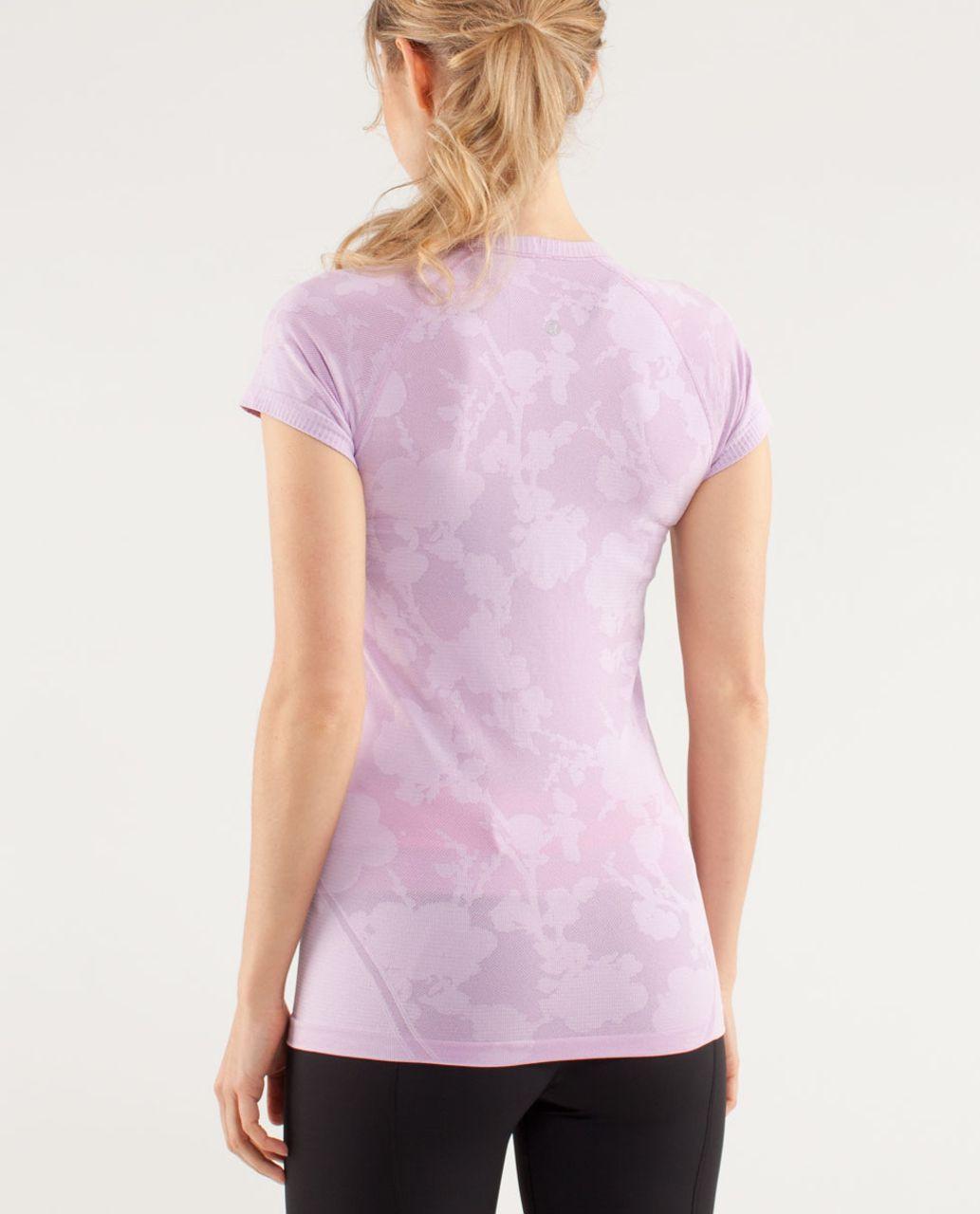 Lululemon Run:  Swiftly Tech Short Sleeve *Special Edition - Rose Quartz