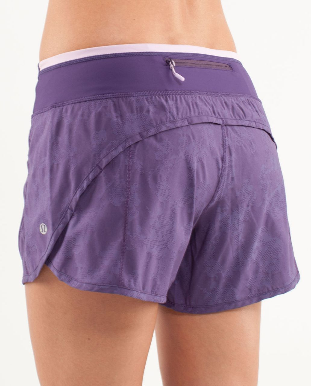 Lululemon Turbo Run Short - Concord Grape