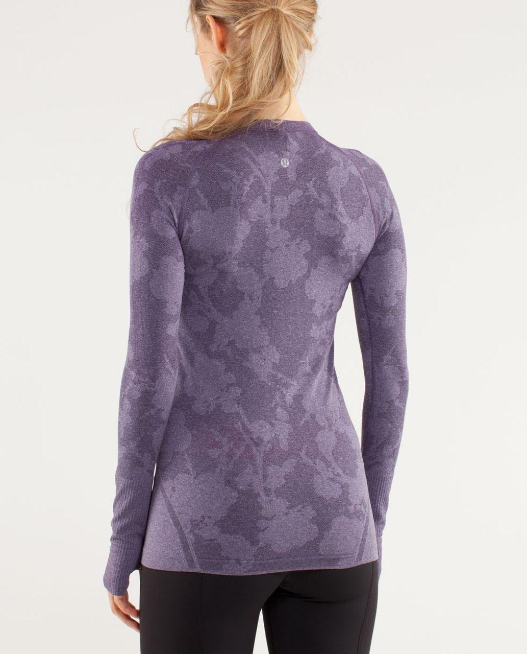 Lululemon Run:  Swiftly Tech Long Sleeve *Special Edition - Concord Grape
