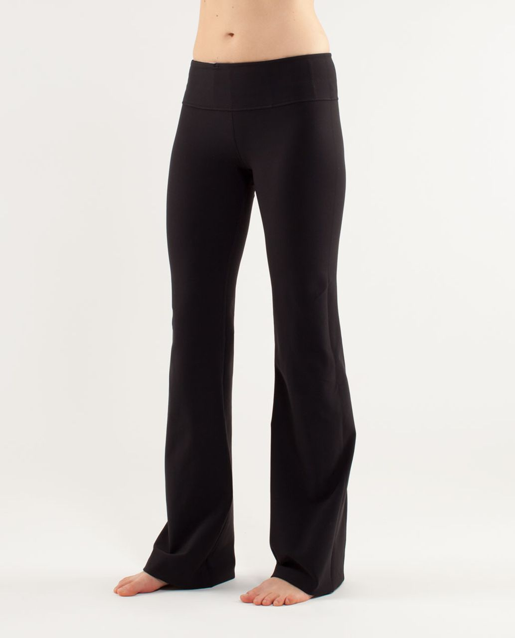 Lululemon Groove Pant (Tall) - Black /  Quilting Spring 10