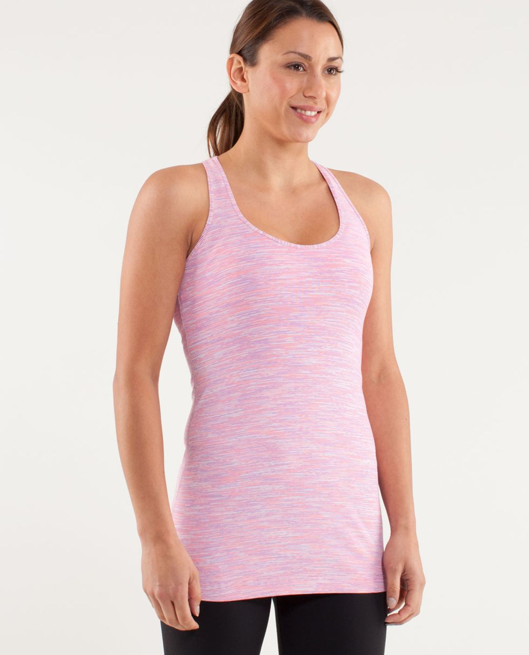 Lululemon Cool Racerback - Wee Are From Space White April Multi
