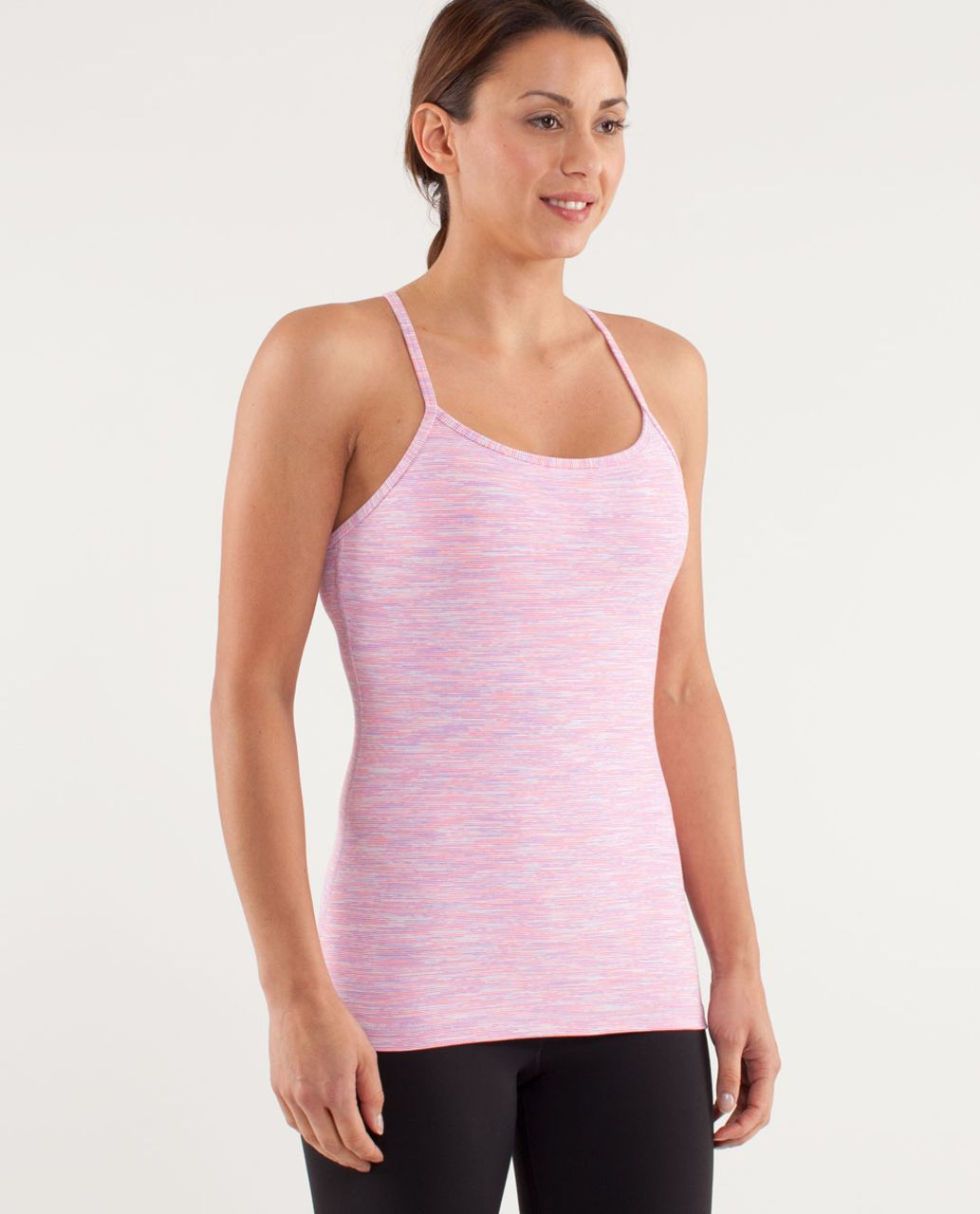 Lululemon Power Y Tank - Wee Are From Space White April Multi