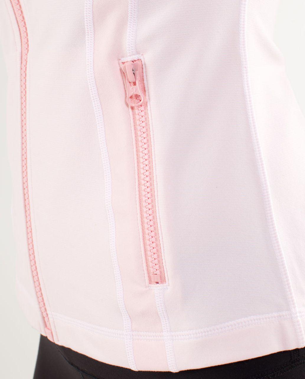 Lululemon Define Jacket - Wee Stripe White Blush Quartz /  Blush Quartz