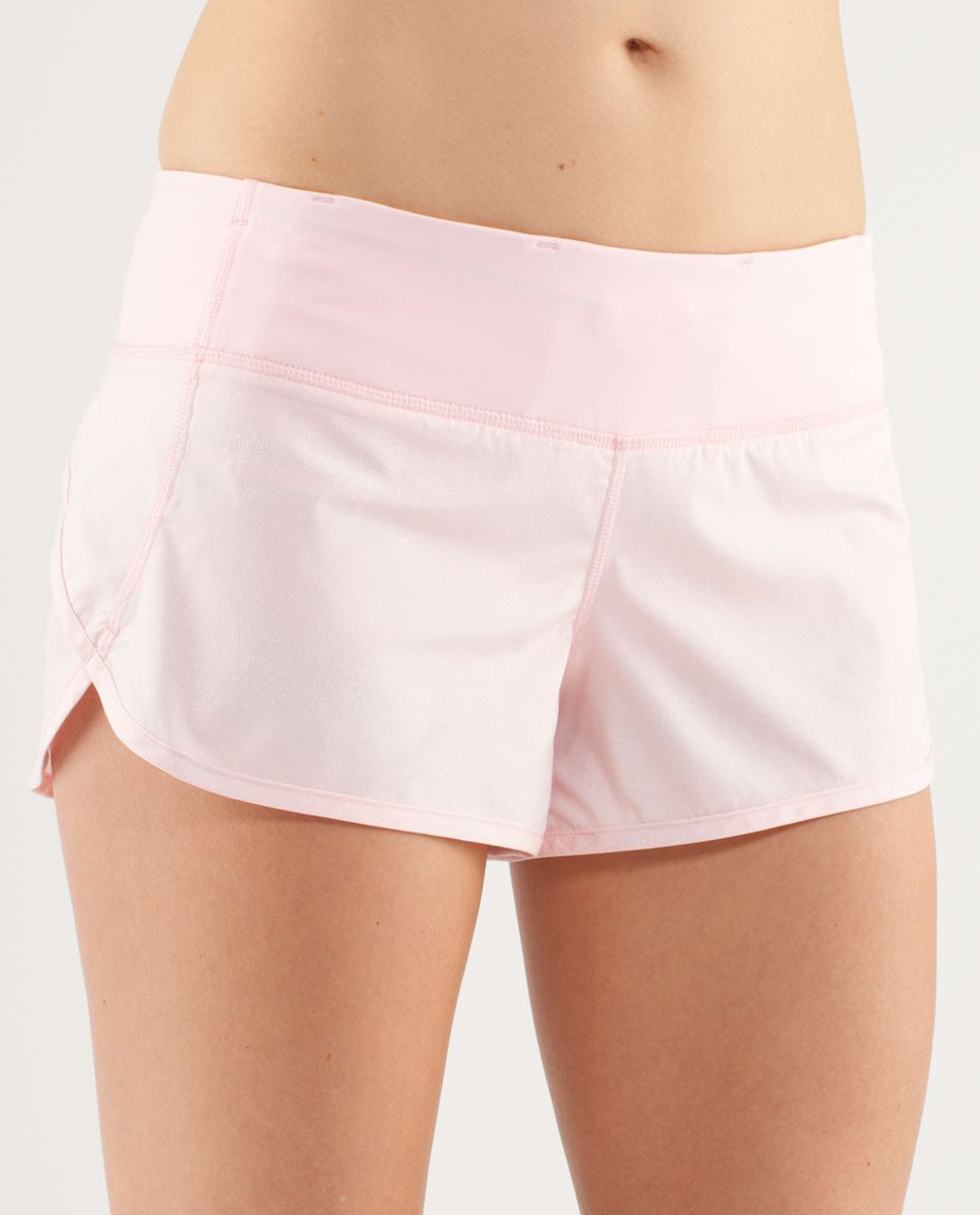Lululemon Run:  Speed Short - Blush Quartz