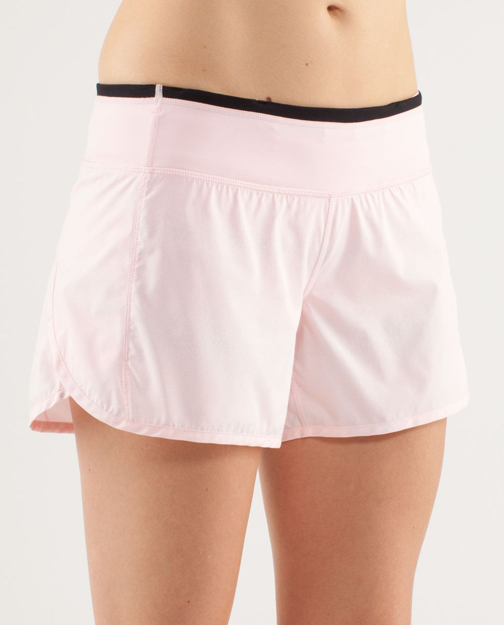 Lululemon Turbo Run Short - Blush Quartz /  Black