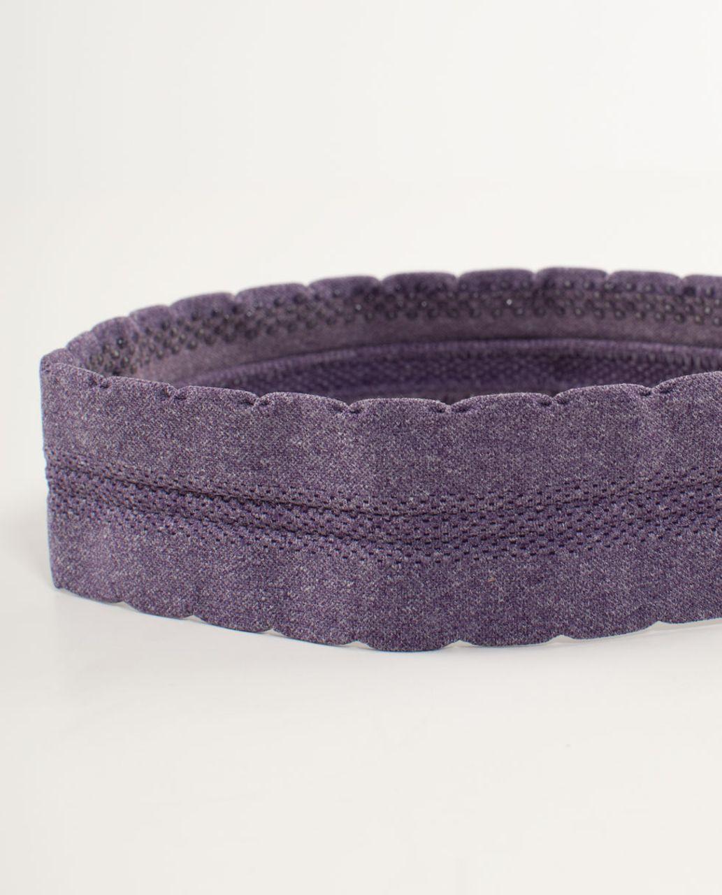 Lululemon Swiftly Headband - Concord Grape
