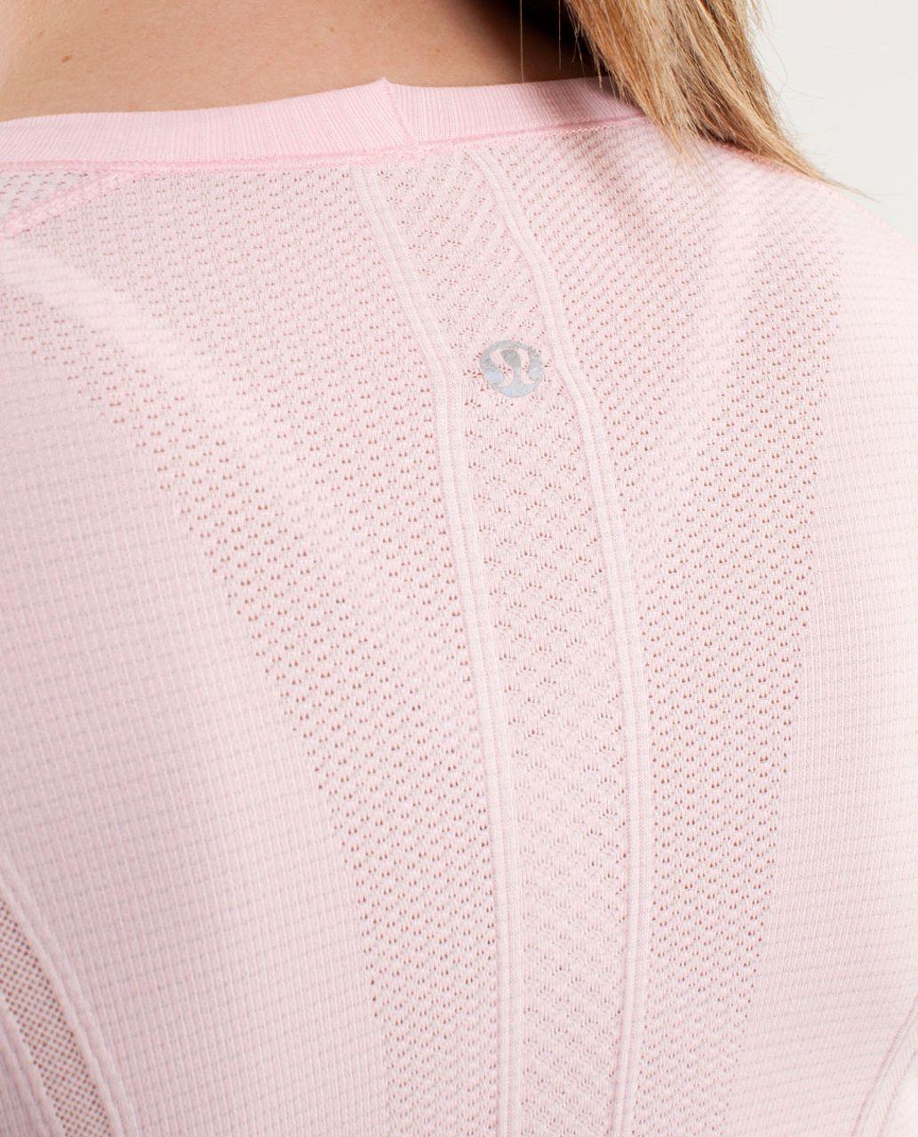 Lululemon Run:  Swiftly Tech Long Sleeve - Blush Quartz