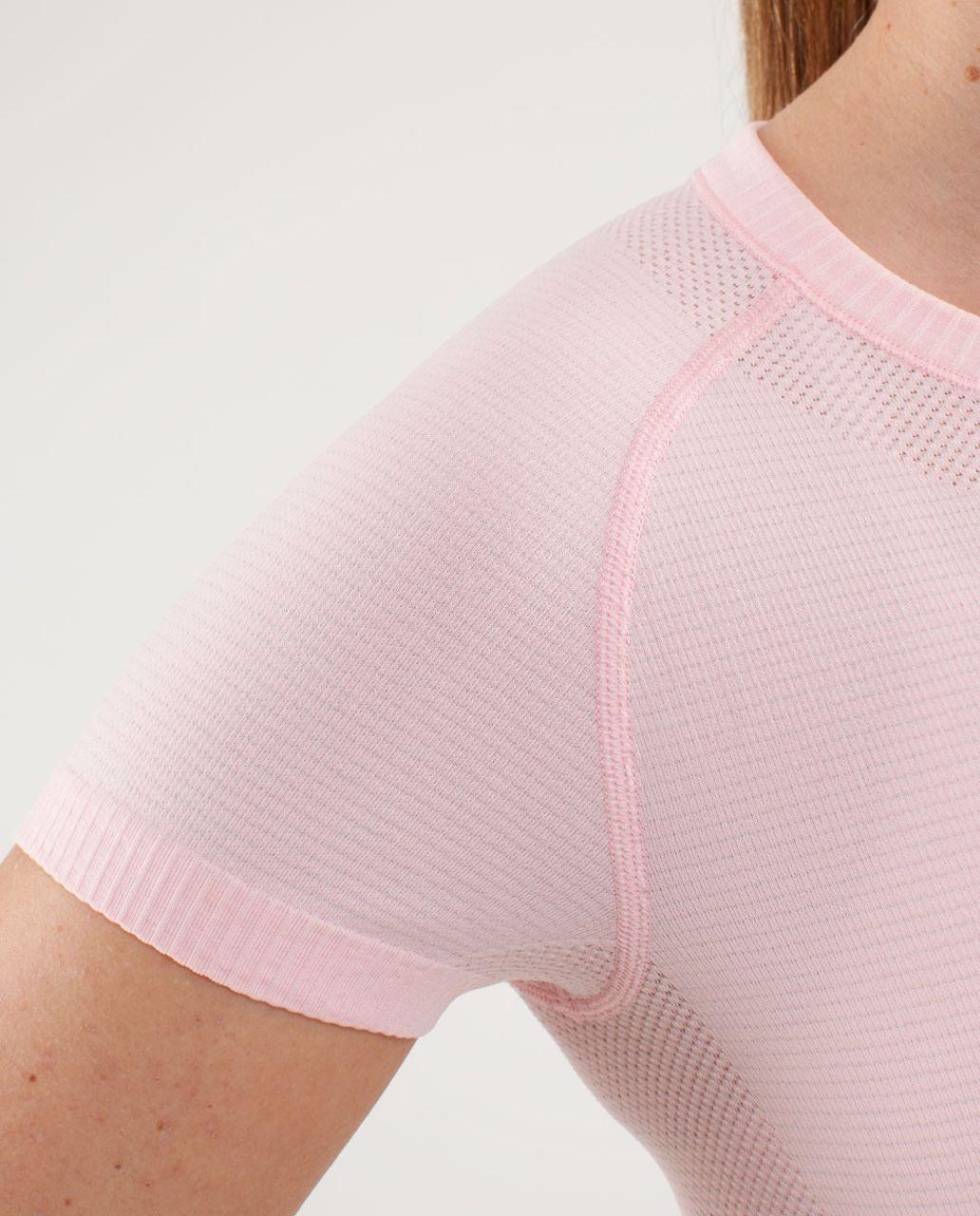 Lululemon Run:  Swiftly Tech Short Sleeve - Blush Quartz