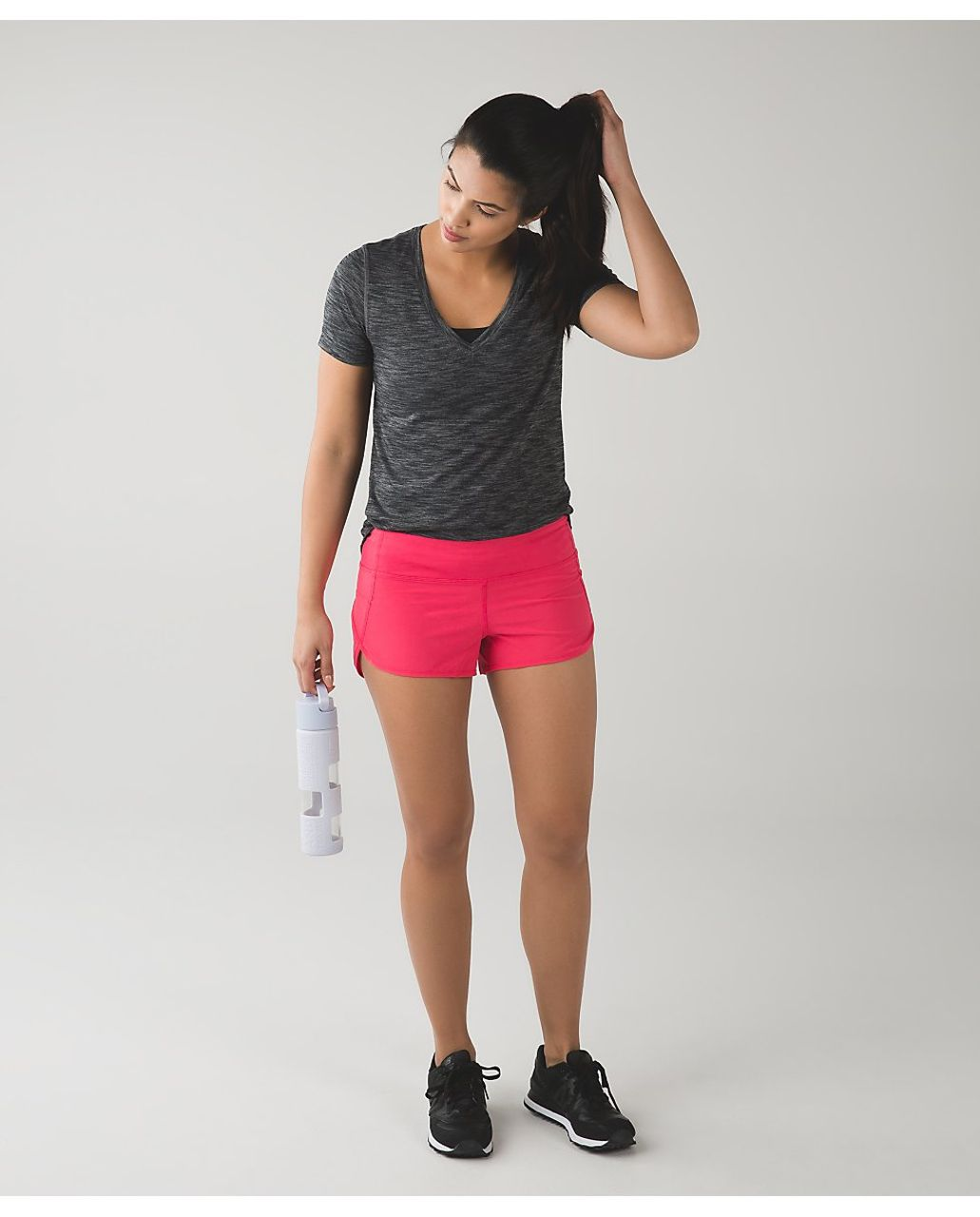 Lululemon Speed Short - Boom Juice
