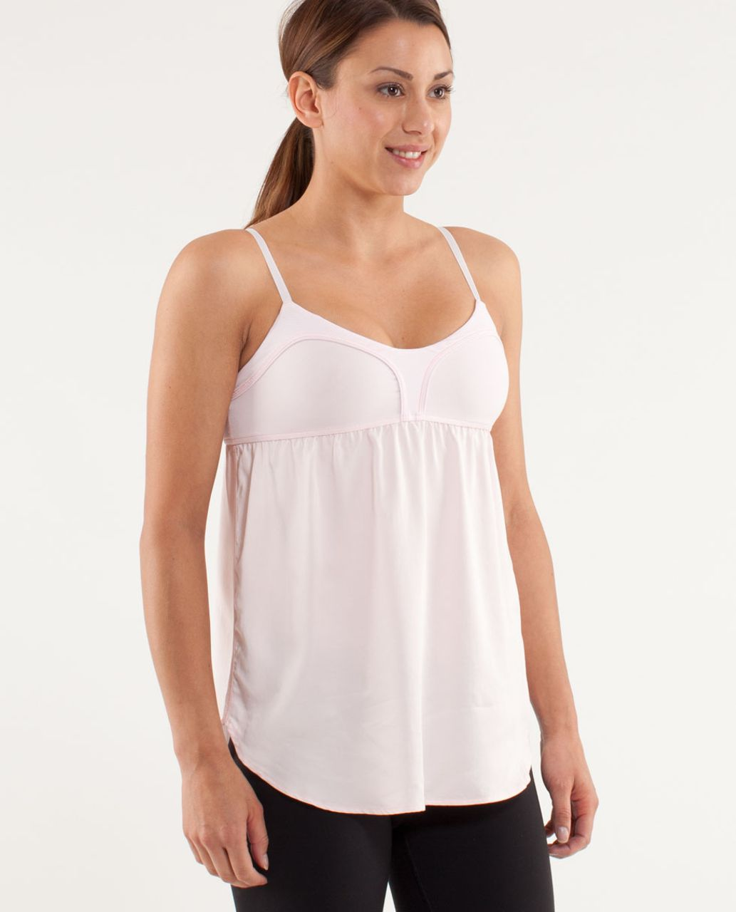 c4fc7061b3d17 Lululemon Find Bliss Tank - Pink Mist   Wee Stripe White Blush Quartz - lulu  fanatics