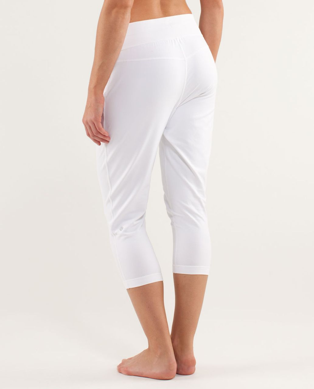 44aaa9f233 Lululemon Free Fall Crop - White - lulu fanatics