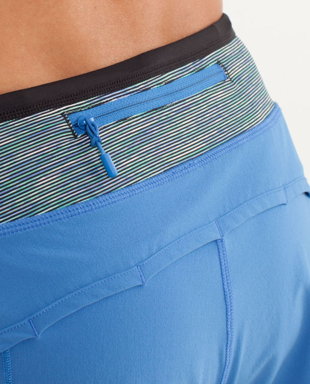 Lululemon Turbo Run Short - Porcelaine / Wee Are From Space Deep Coal May Multi