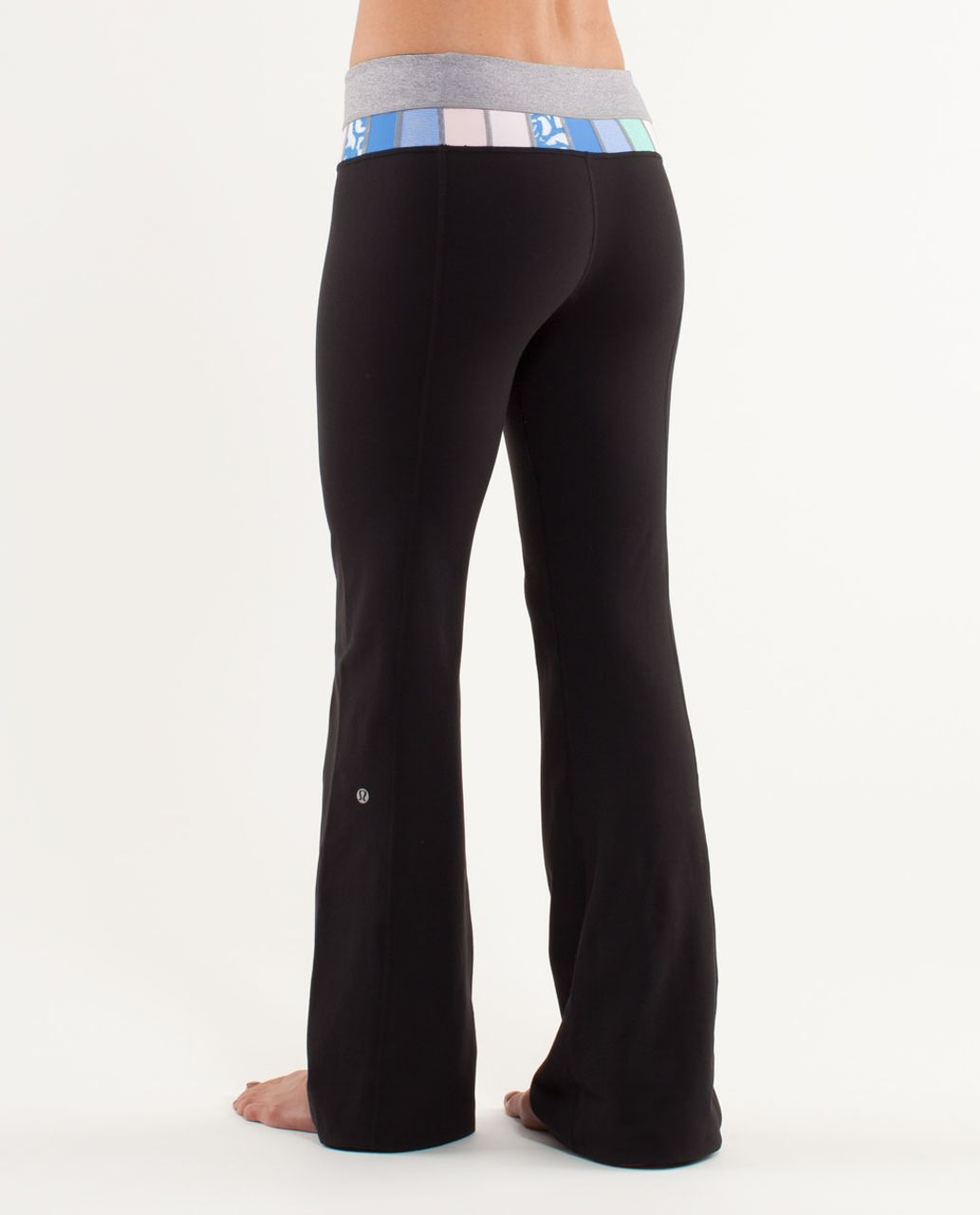 Lululemon Groove Pant (Regular) - Black /  Heathered Fossil /  Quilting Spring 21