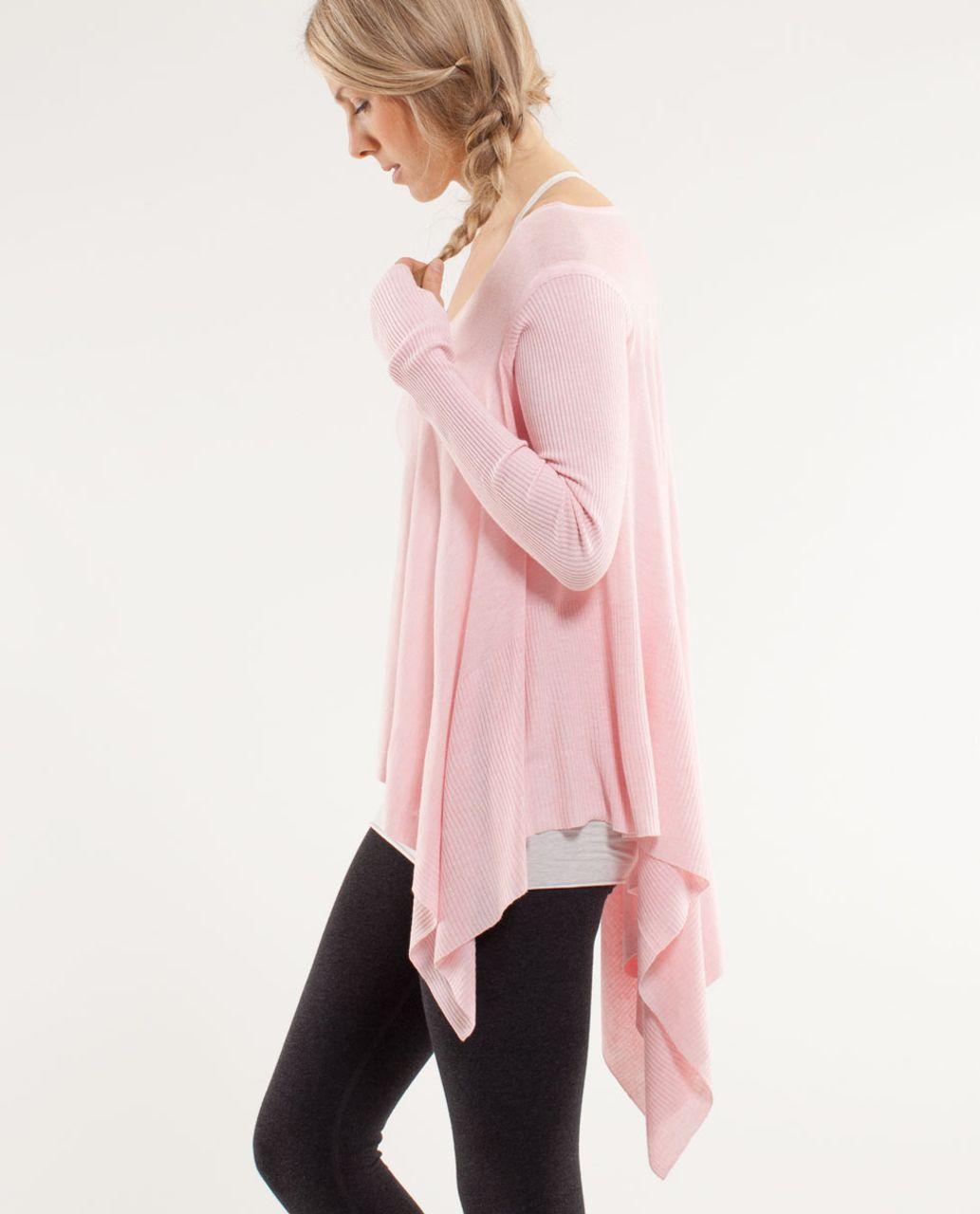 Lululemon Enlightened Pullover - Heathered Blush Quartz