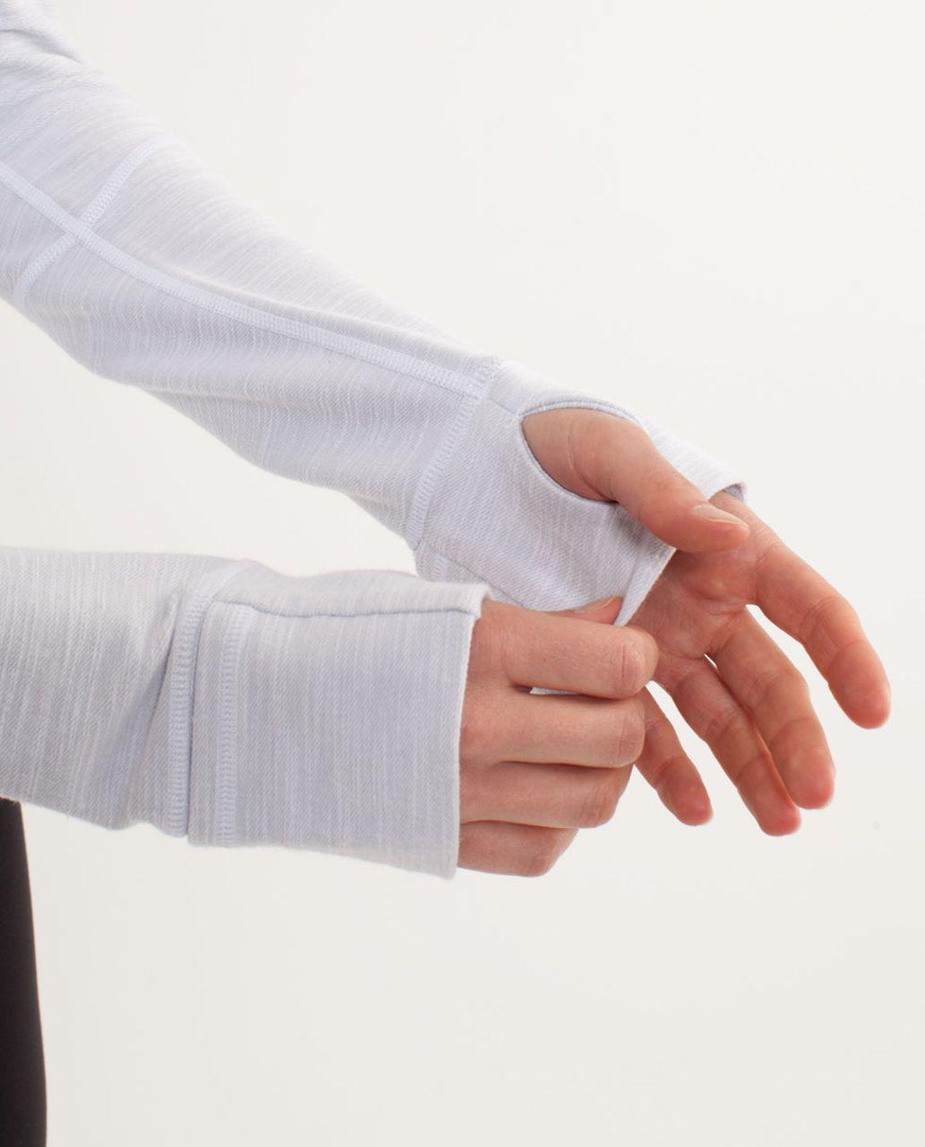 Lululemon Define Jacket *Denim - White Slub Denim