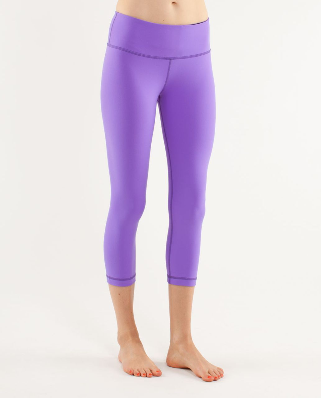 Lululemon Wunder Under Crop - Power Purple (First Release)