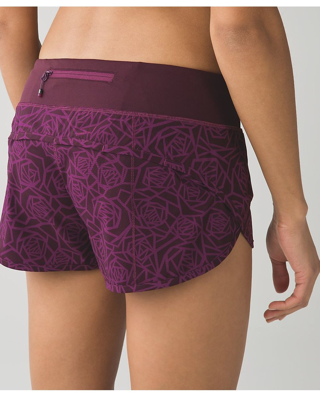 "Lululemon Speed Short *4-way Stretch 2.5"" - Posey Red Grape Bordeaux Drama / Bordeaux Drama"
