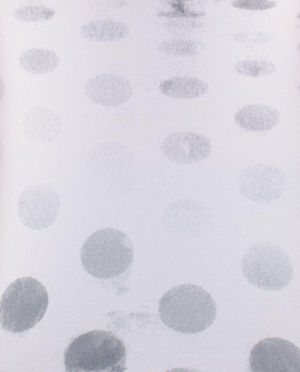 Lululemon Cool Racerback - Seaside Dot White / Fossil