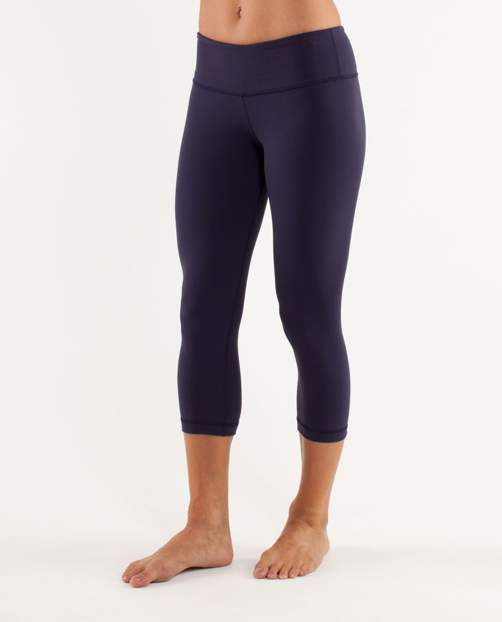 Lululemon Wunder Under Crop - Deep Indigo