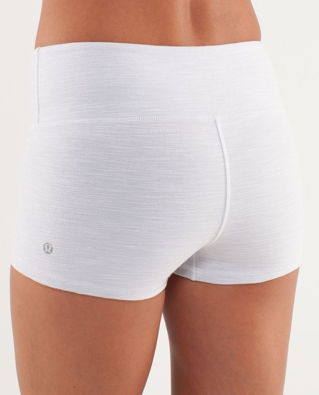 Lululemon Boogie Short *Denim - White Slub Denim