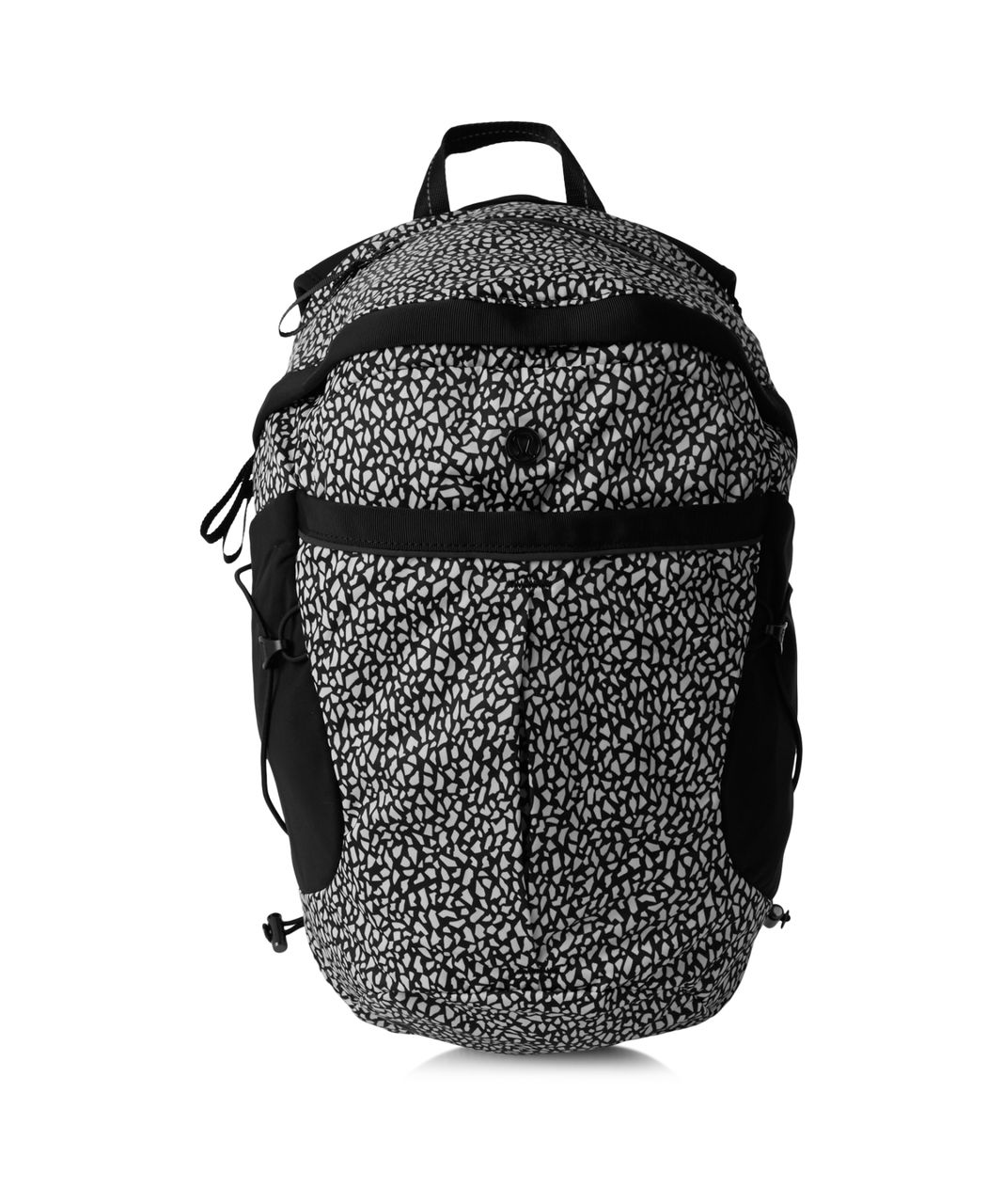 Lululemon Run All Day Backpack - Miss Mosaic Black / Black