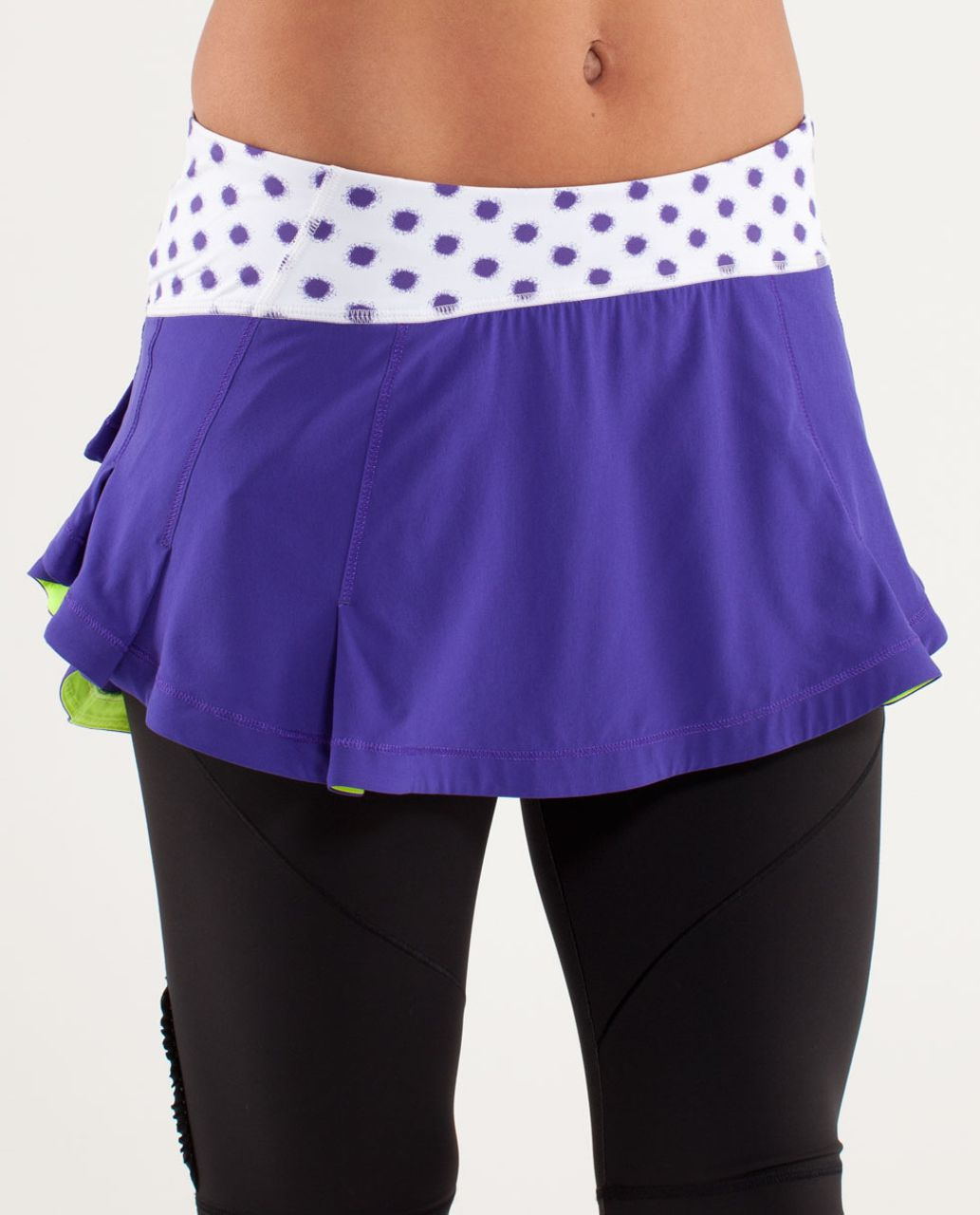 Lululemon Presta Skirt - Bruised Berry / High Noon Dot White / Bruised Berry