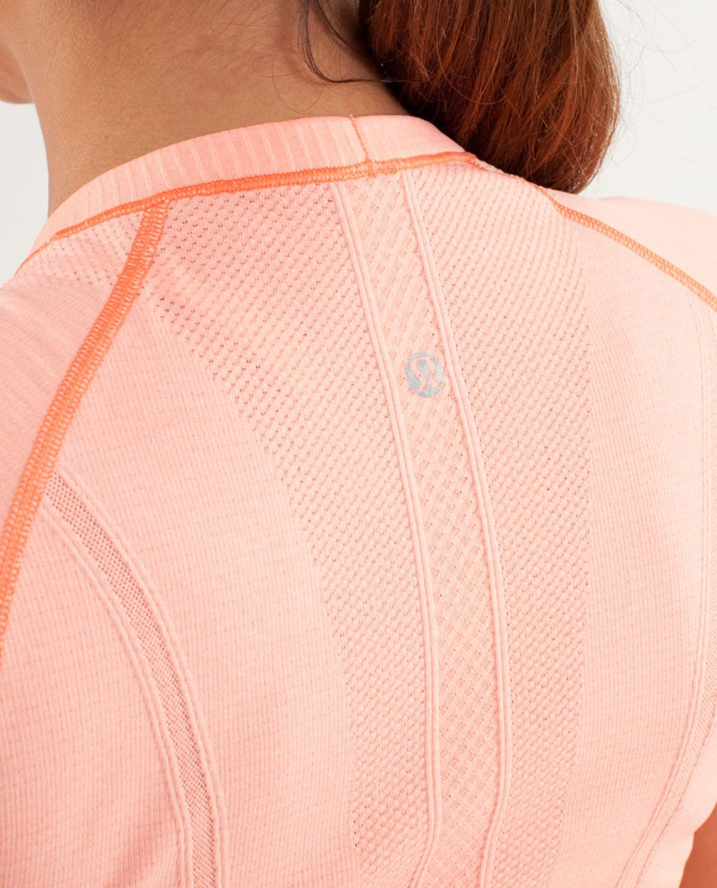 Lululemon Run:  Swiftly Tech Short Sleeve - Pop Orange