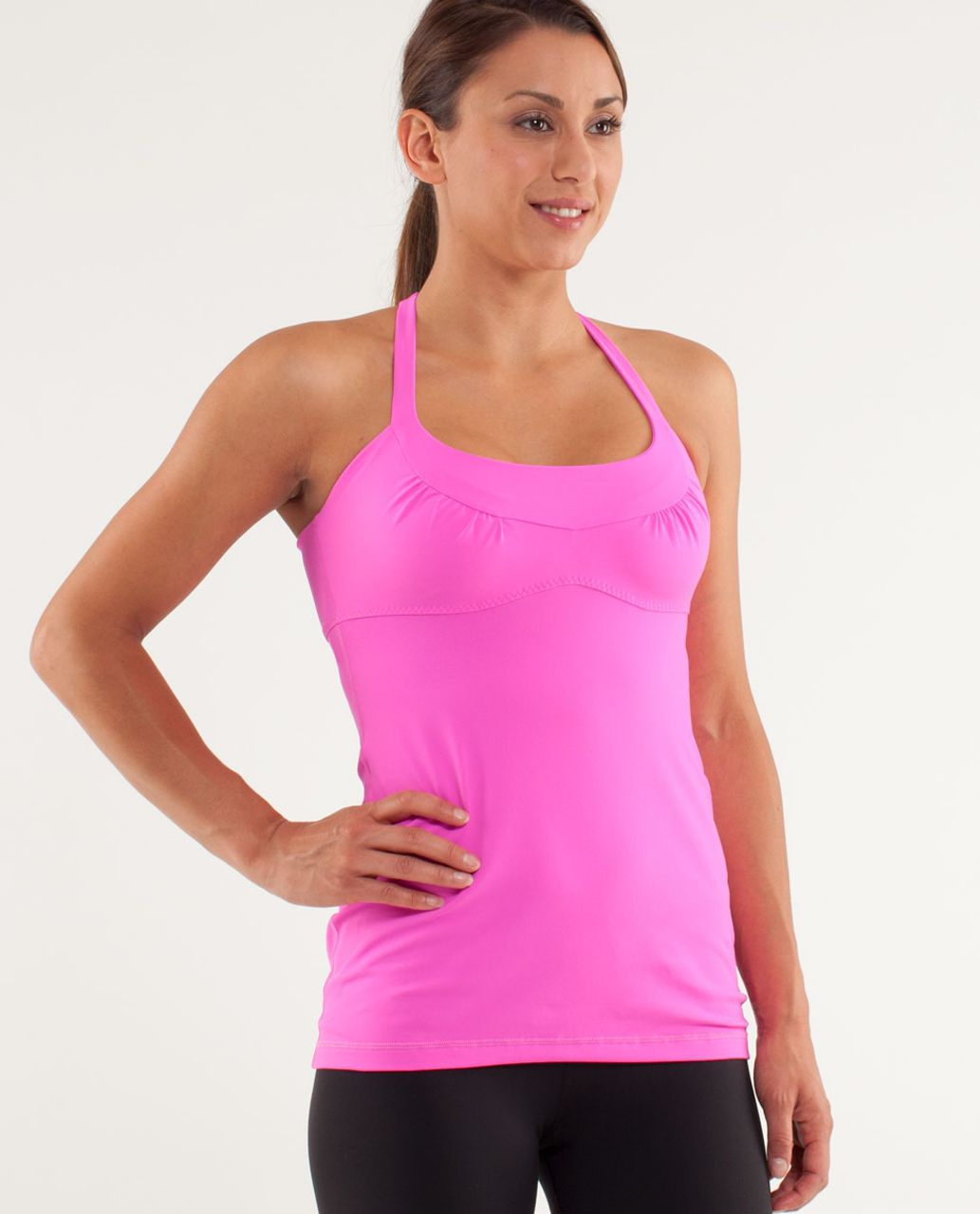 Lululemon Scoop Me Up Tank - Pow Pink