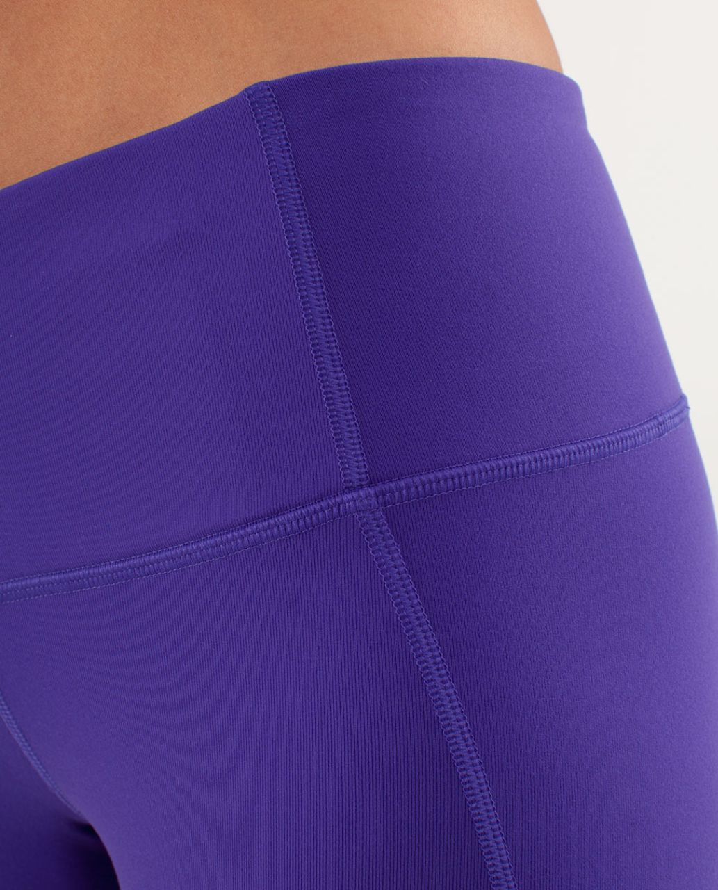 Lululemon Gather & Crow Crop - Bruised Berry / High Noon Dot Lilac / Black