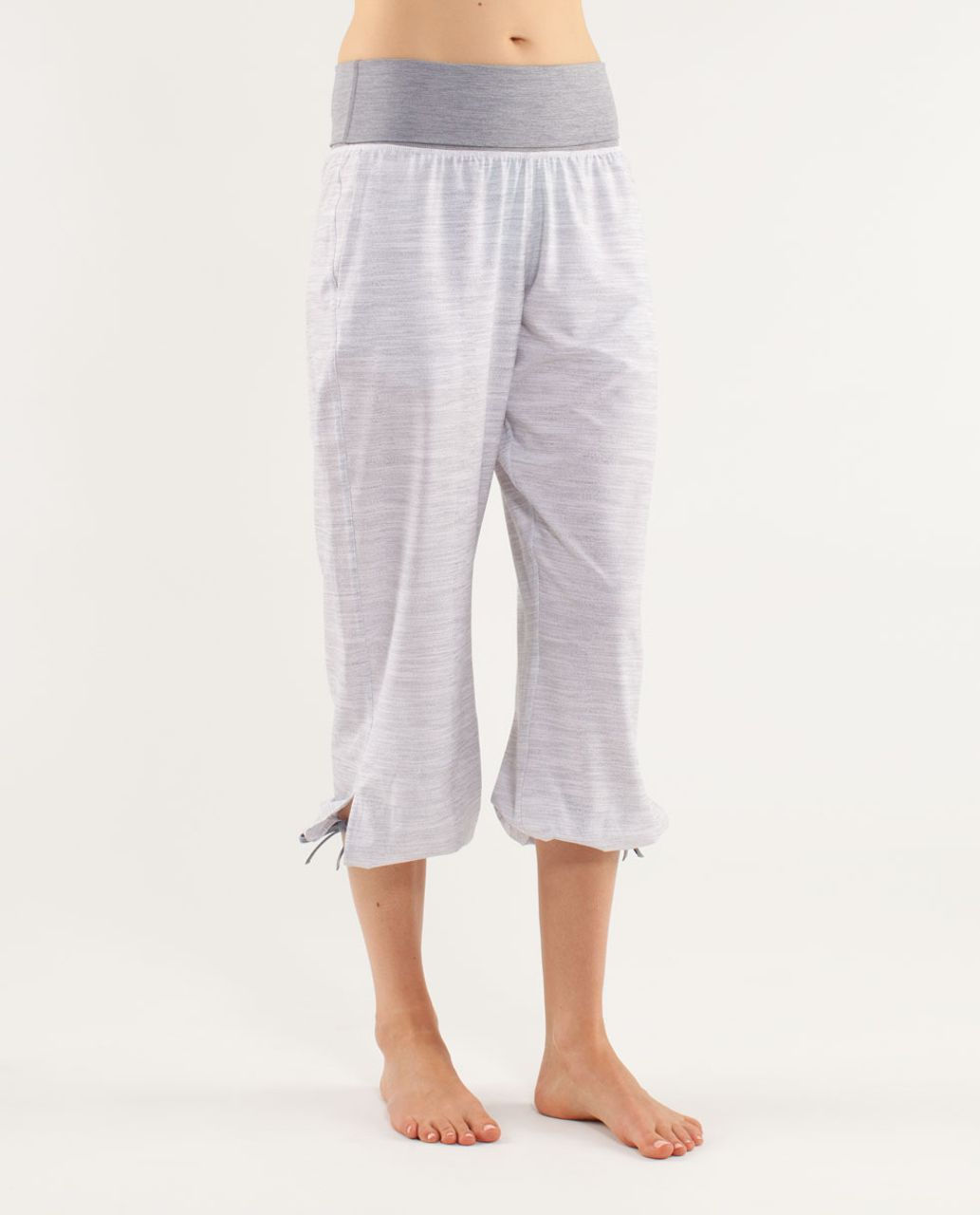 Lululemon Om Pant - Commuter Denim White / Fossil / Heathered Fossil