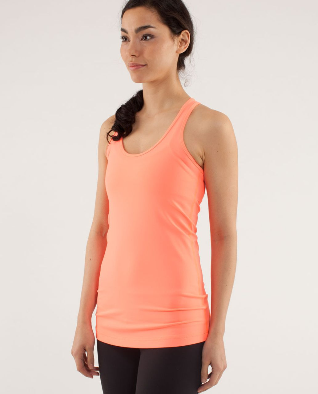 Lululemon Cool Racerback - Pop Orange