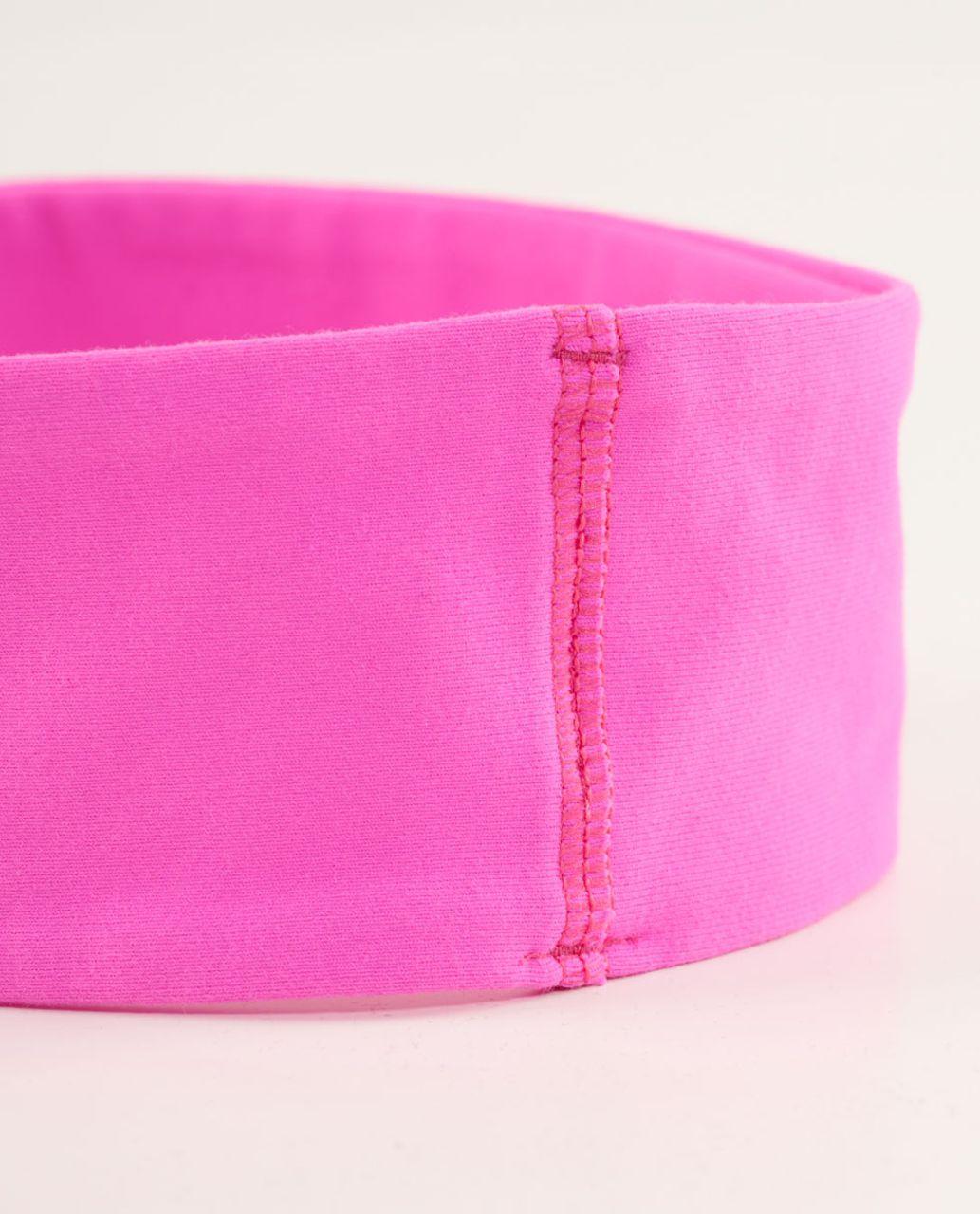 Lululemon Lucky Luon Headband - Pow Pink