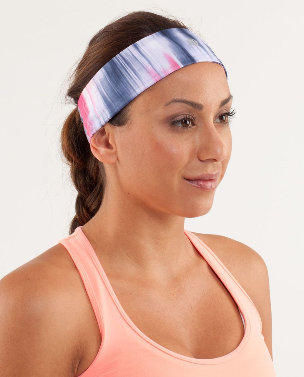 Lululemon Lucky Luon Headband - Mirage Deep Indigo