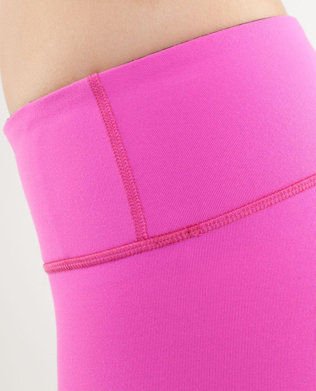 Lululemon Wunder Under Crop *Reversible - Pow Pink /  Black