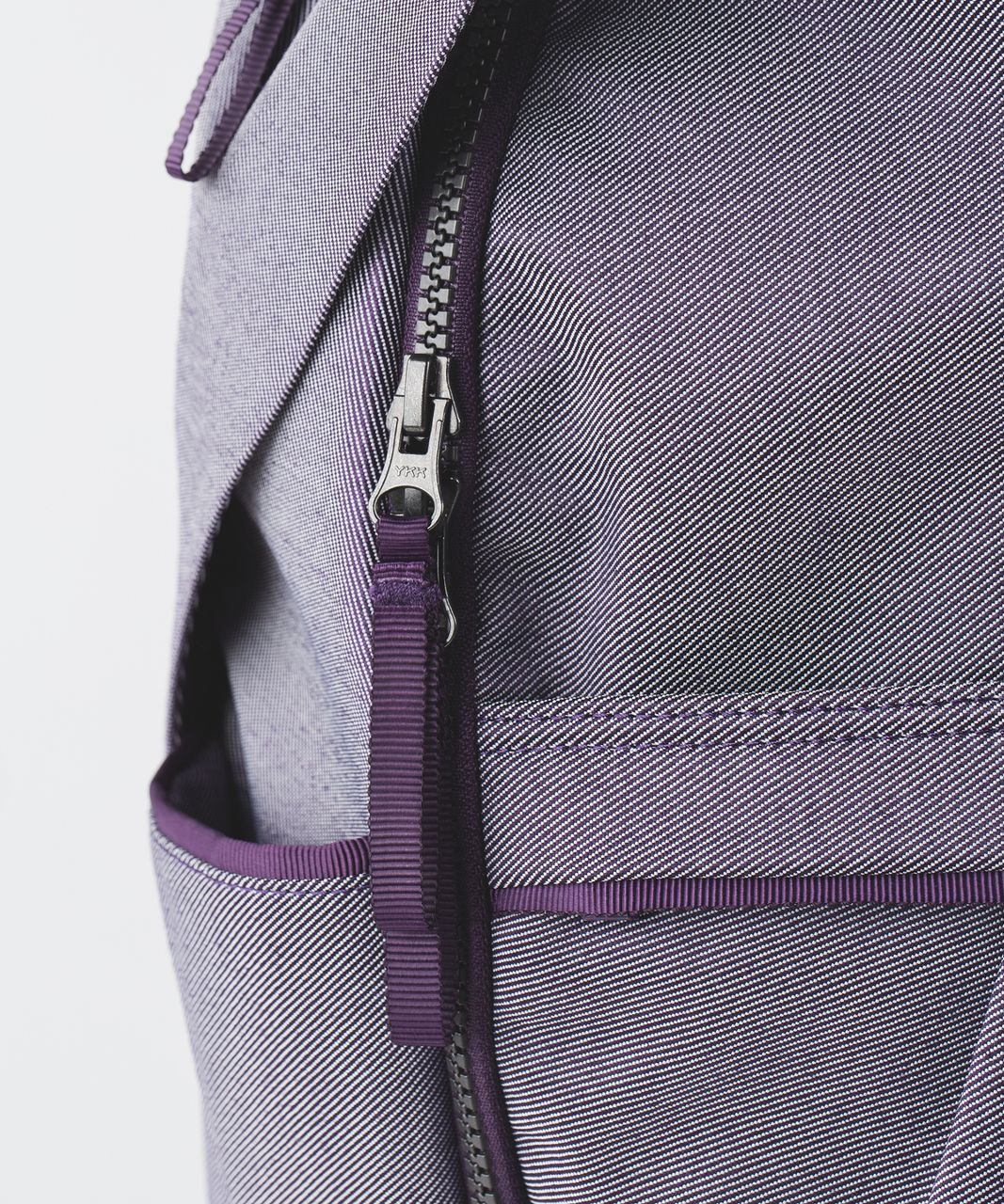 Lululemon All Day Backpack - Deep Zinfandel / White