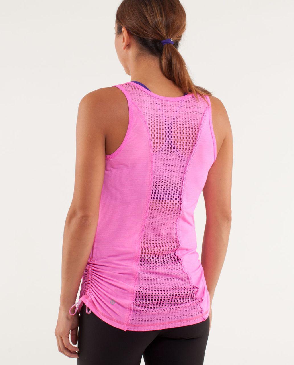 Lululemon Run:  Tie And Fly Tank - Pow Pink Light