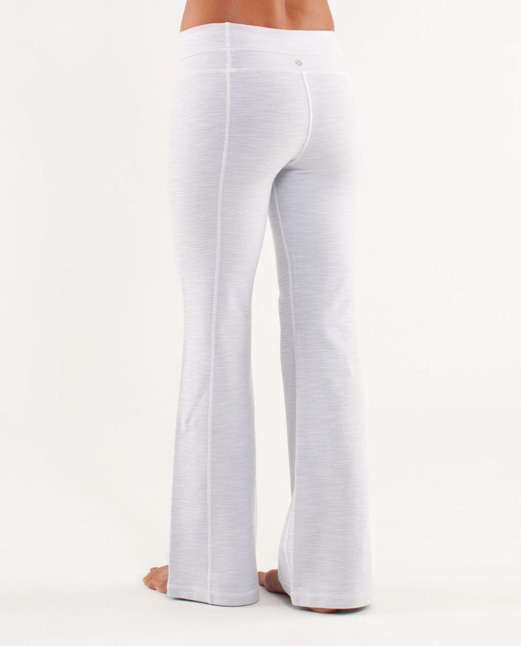 Lululemon Groove Pant *Denim (Regular) - White Slub Denim