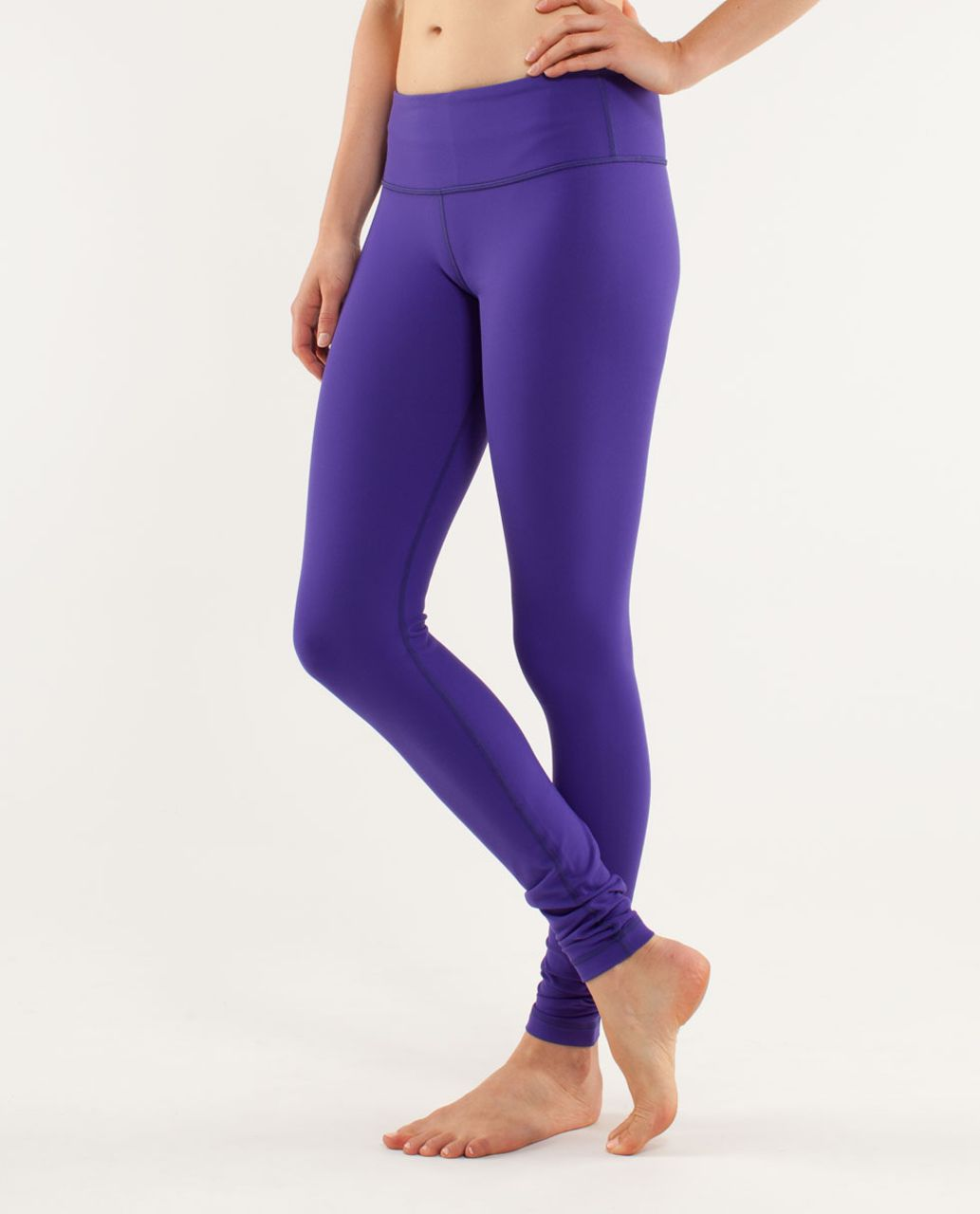 Lululemon Wunder Under Pant - Bruised Berry / Black