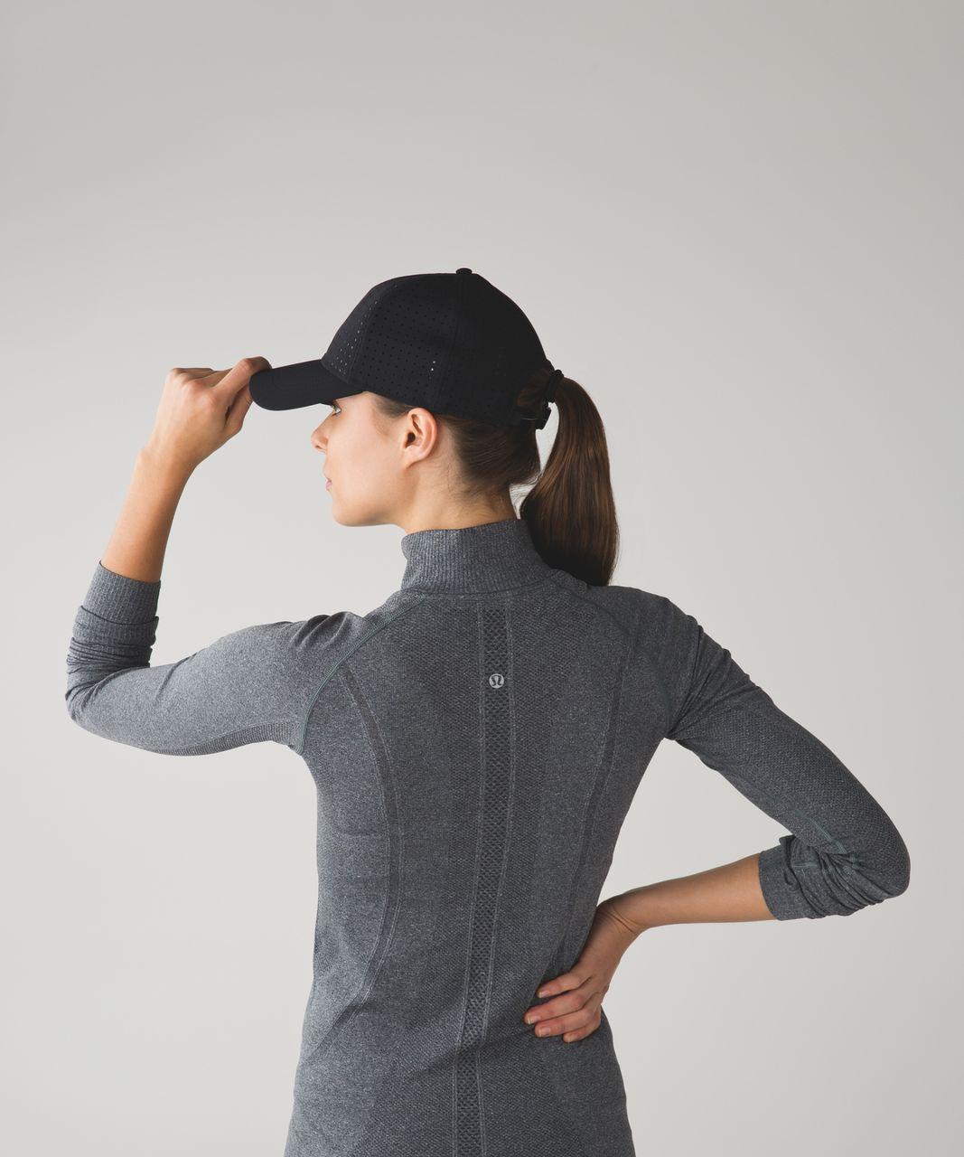 Lululemon Baller Hat - Black / Black (Mesh)