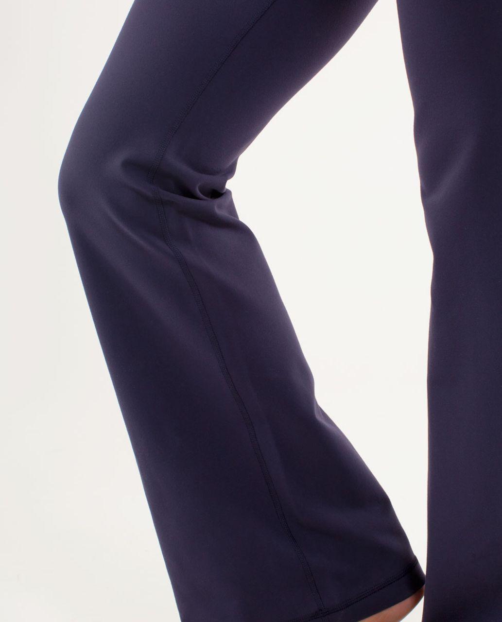 Lululemon Groove Pant (Tall) - Deep Indigo / Mirage Deep Indigo / White