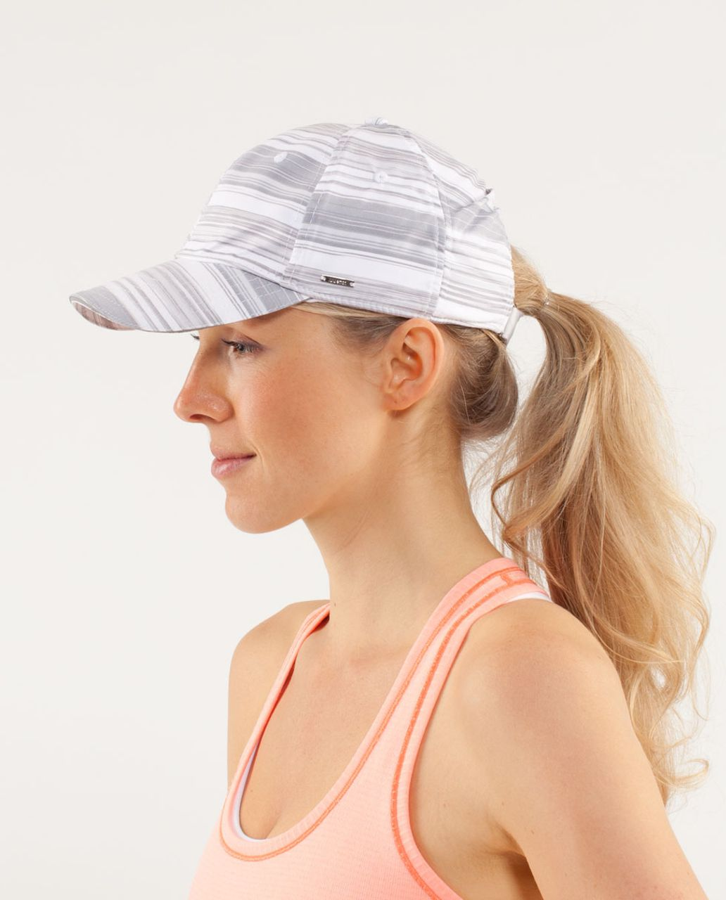 Lululemon Women's Cross Training Cap - Elevation Stripe White