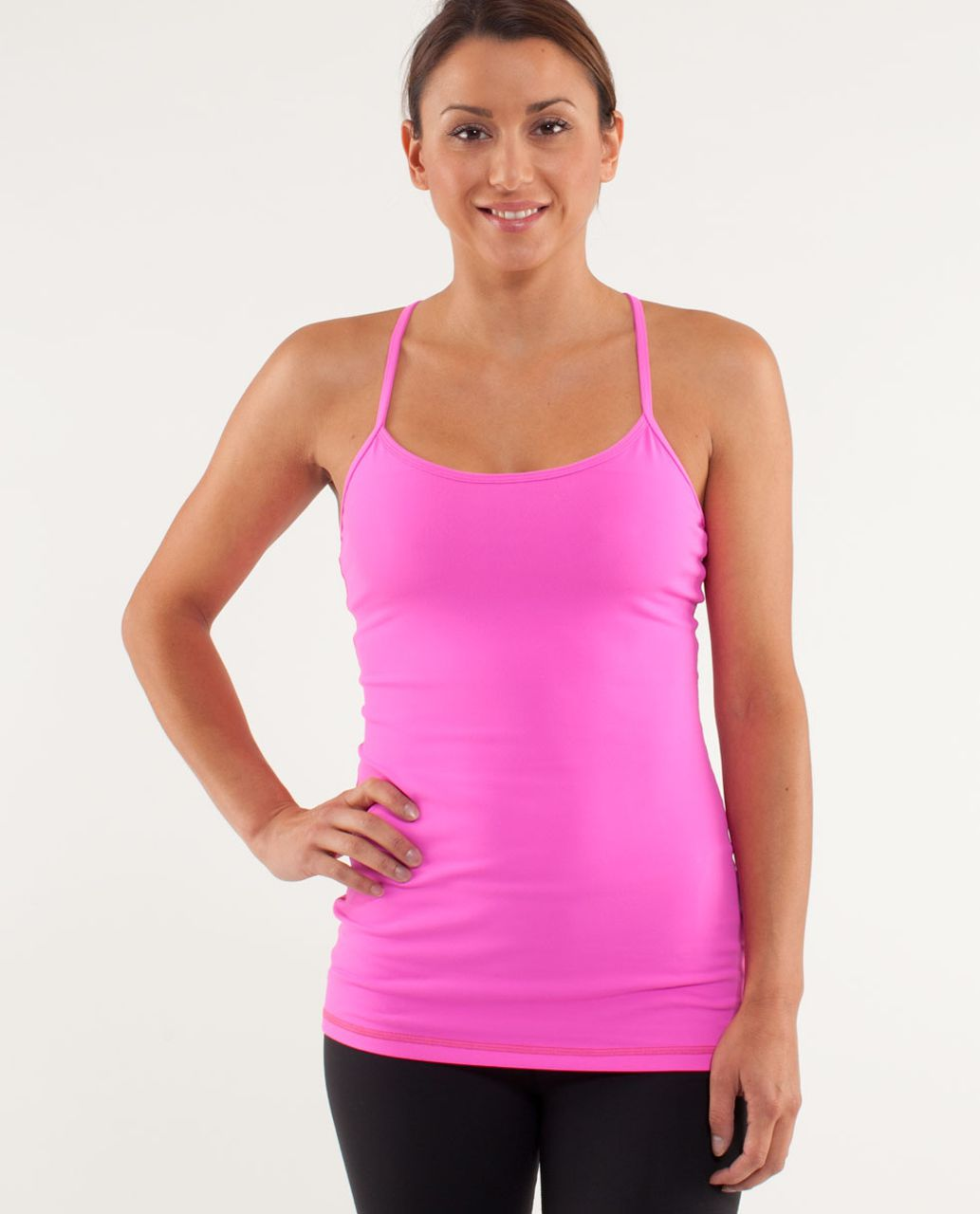 Lululemon Power Y Tank - Pow Pink