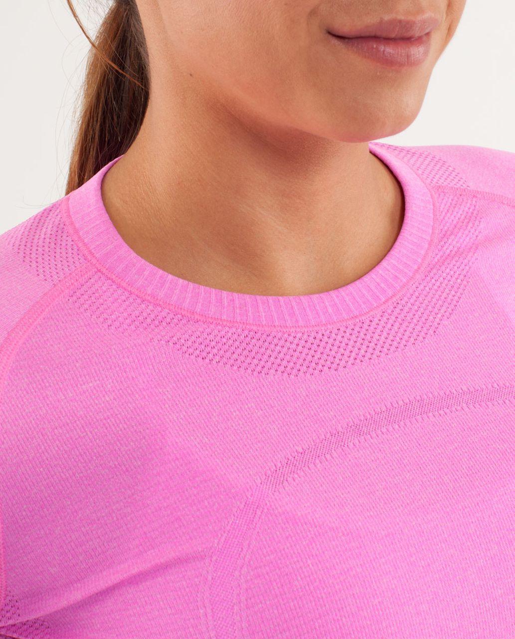 Lululemon Run:  Swiftly Tech Long Sleeve - Pow Pink Light